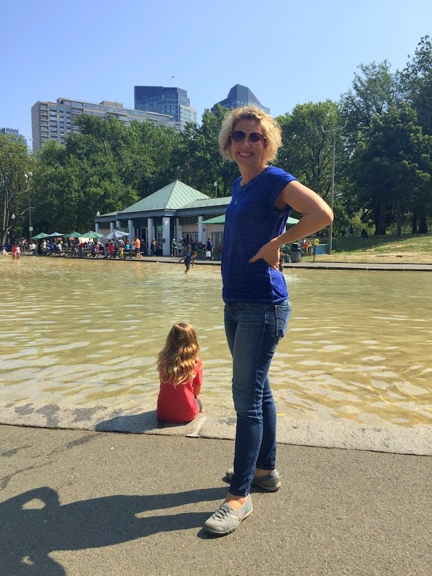 the Boston Common Frog Pond