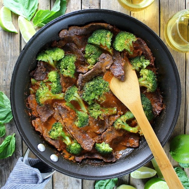 Thai Beef And Broccoli Recipe Image