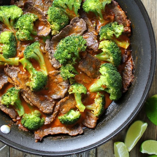 Thai Beef with Broccoli