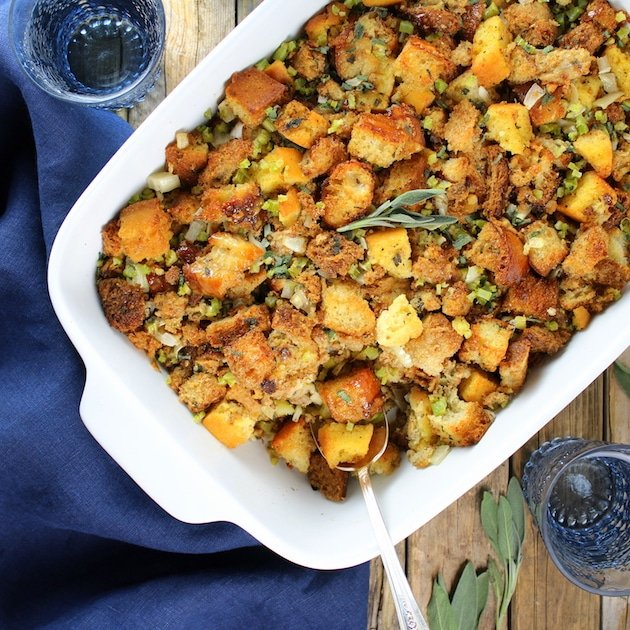 Thanksgiving Menu - Classic Turkey Stuffing