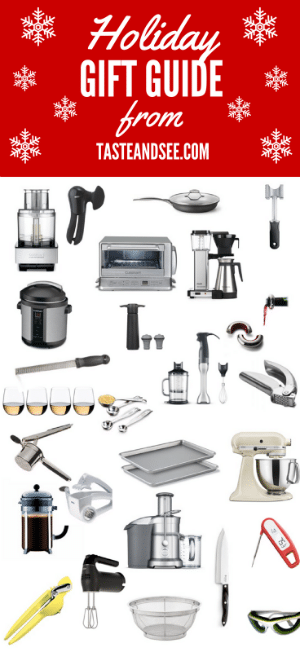 Great ideas for the cook or grill-master in your life, at all price points... there's something for everyone!  https://tasteandsee.com