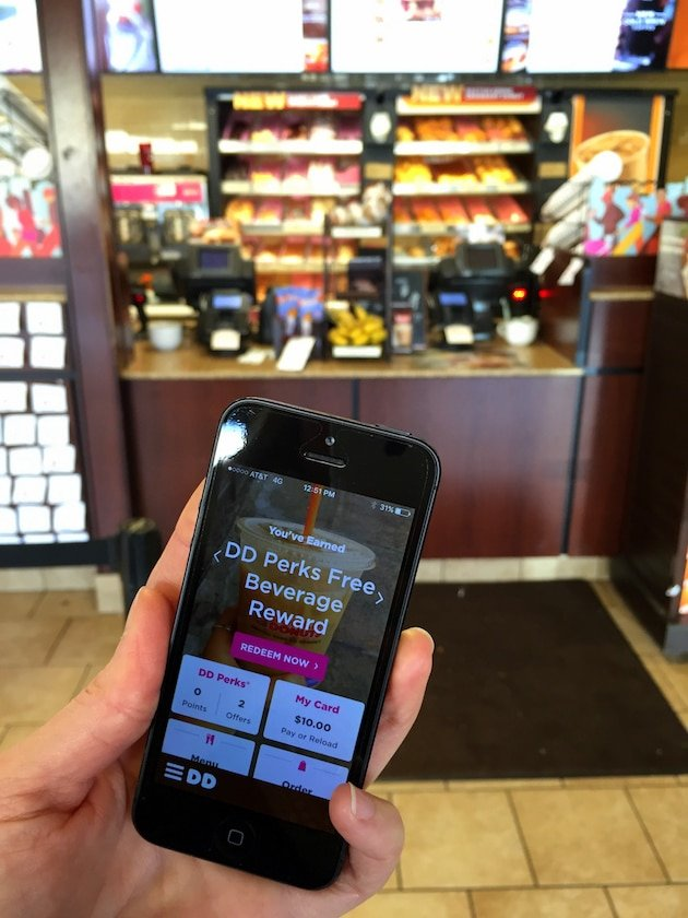 Dunkin' Donuts DD Perks App - by Taste And See