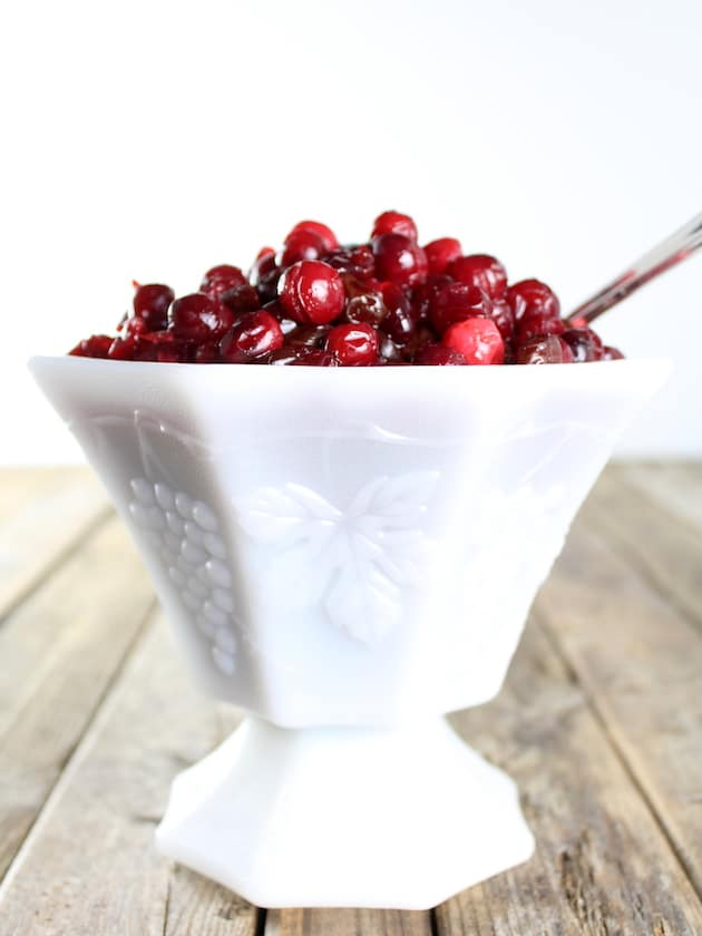 Cranberry And Dried Cherry Sauce