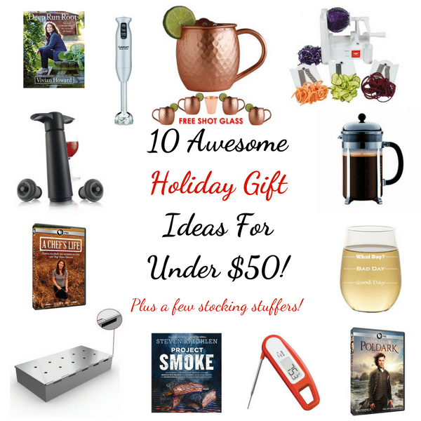 10 Awesome Holiday Gift Ideas For Under $50 | Taste And See