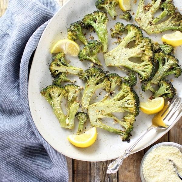 Roasted Ranch Broccoli