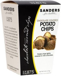 Chocolate Potato Chips - Stocking Stuffer Gift Guide For Foodies