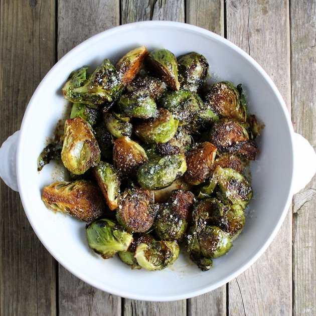 Top Ten Recipes of 2016 - Balsamic Glazed Brussels Sprouts