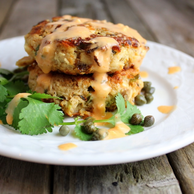 Top Ten Recipes of 2016 - Tuna Cakes