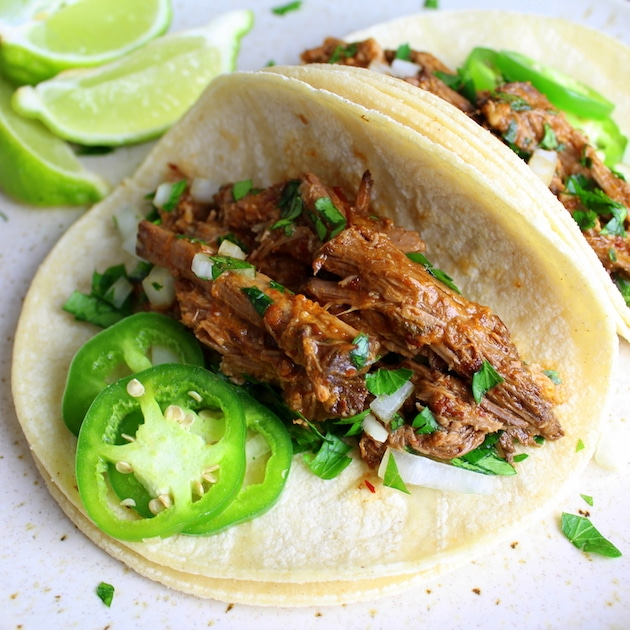 Top Ten Recipes of 2016 - Slow Cooker Beef Barbacoa