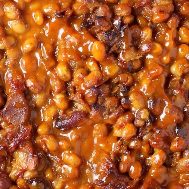 Top Ten Recipes of 2016 - BBQ Baked Beans