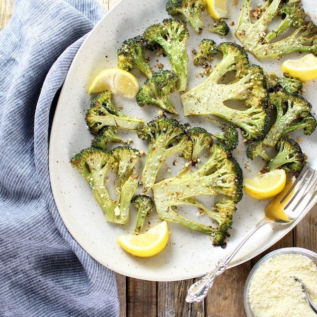 Roasted Ranch Broccoli Recipe