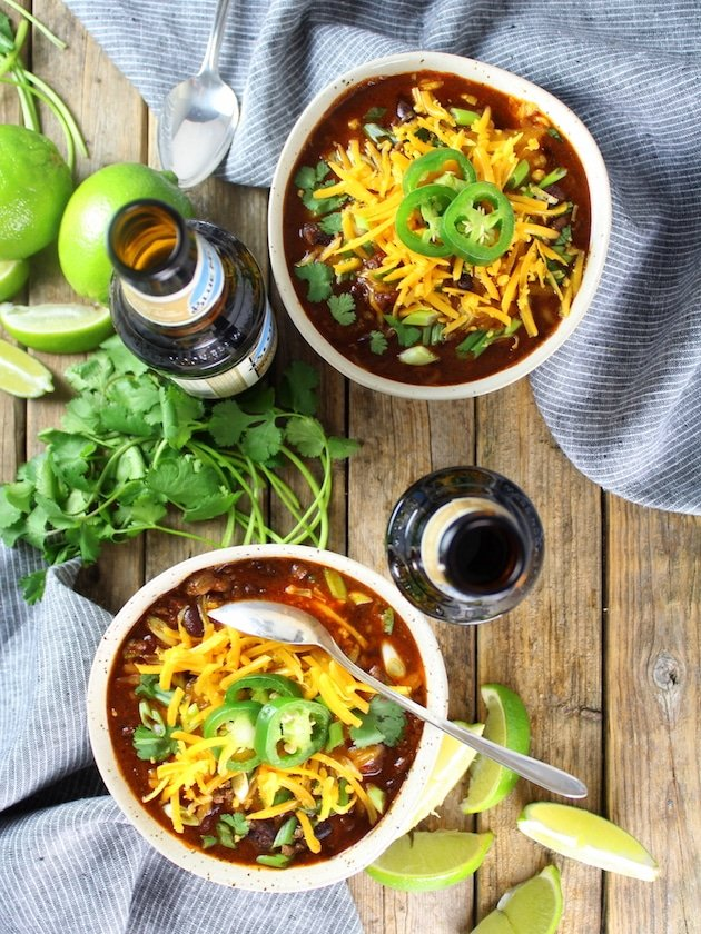 Stout Beer Chili