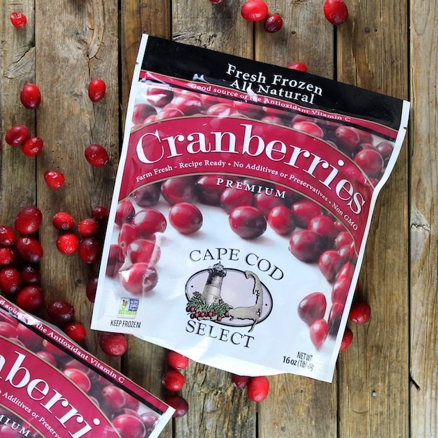 Package of cranberries