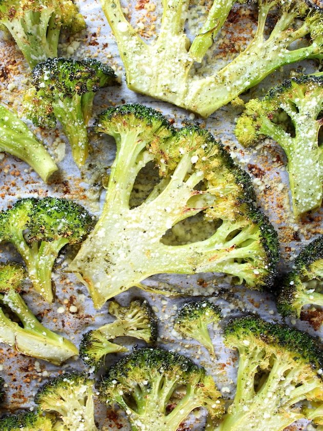 Roasted Ranch Broccoli