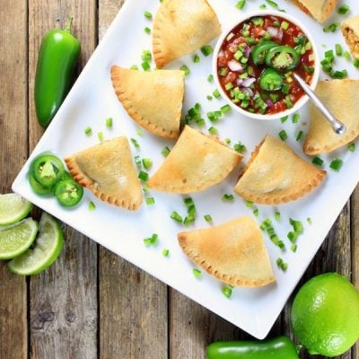 Chipotle Chicken and Cheese Empanadas