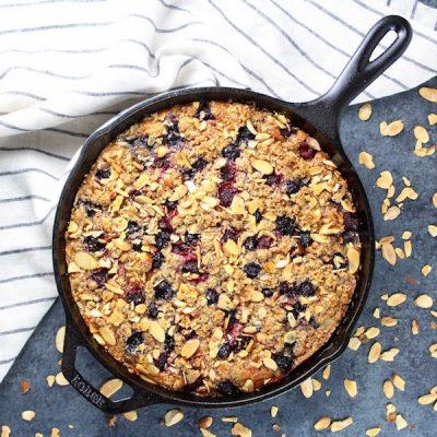 Triple Berry Blender Cake Recipe
