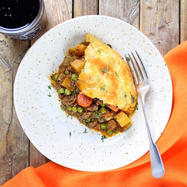 Cottage Beef Pot Pie with Potatoes and Parsnips Picture