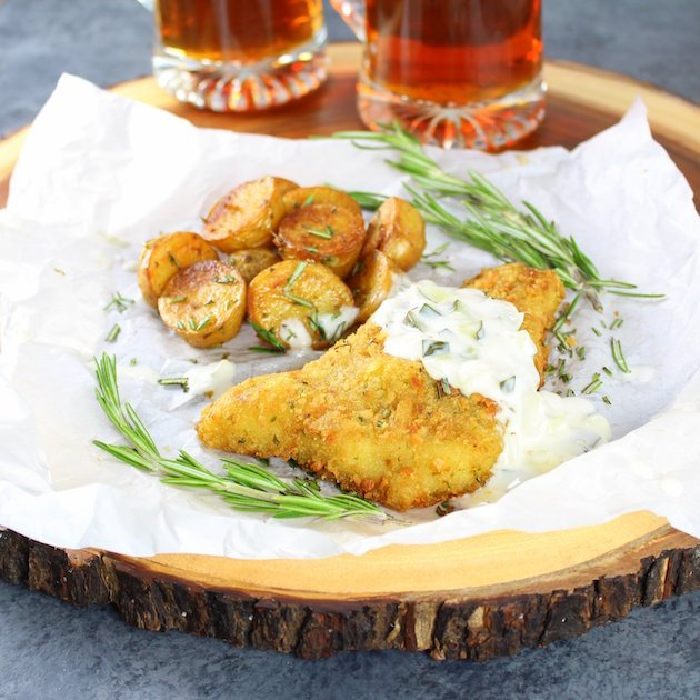 Smoky Salt and Vinegar Roasted Potatoes Image Cod Fillets and Salty Potato Recipe