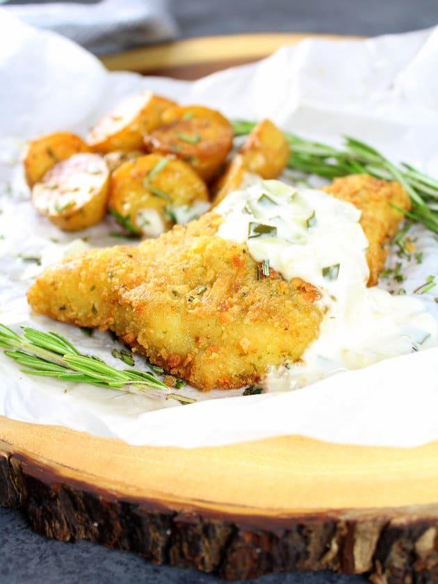 Smoky Salt and Vinegar Roasted Potatoes | Taste And See