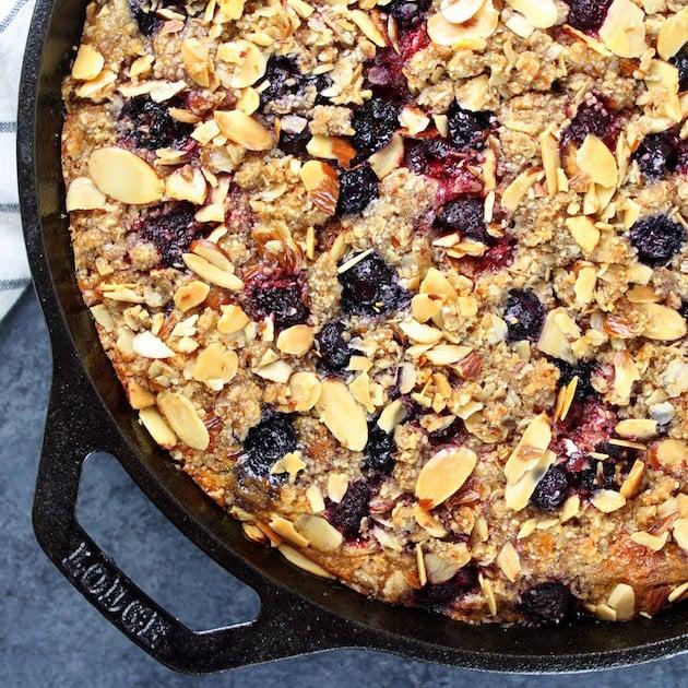 Triple Berry Blender Cake Image Gluten Free Oat-Based Cake