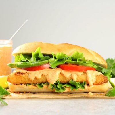Zesty Baja Fish Sandwich