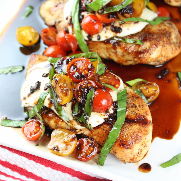 Grilled Chicken Caprese Recipe Taste And See