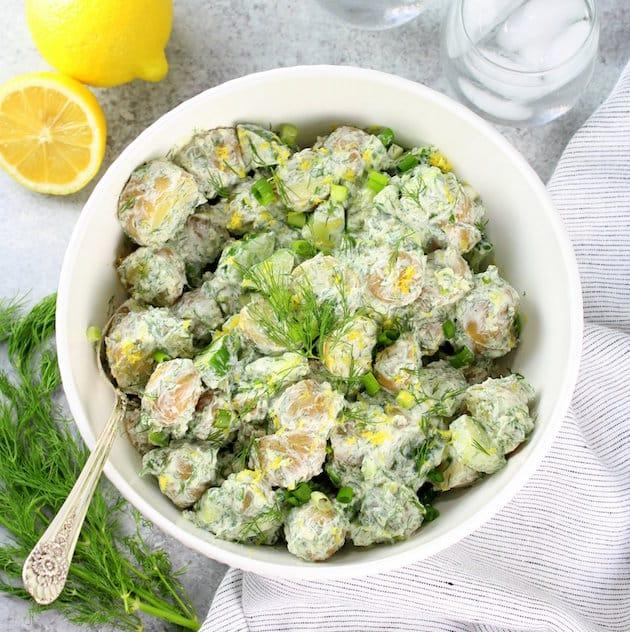 Greek Tzatziki Potato Salad