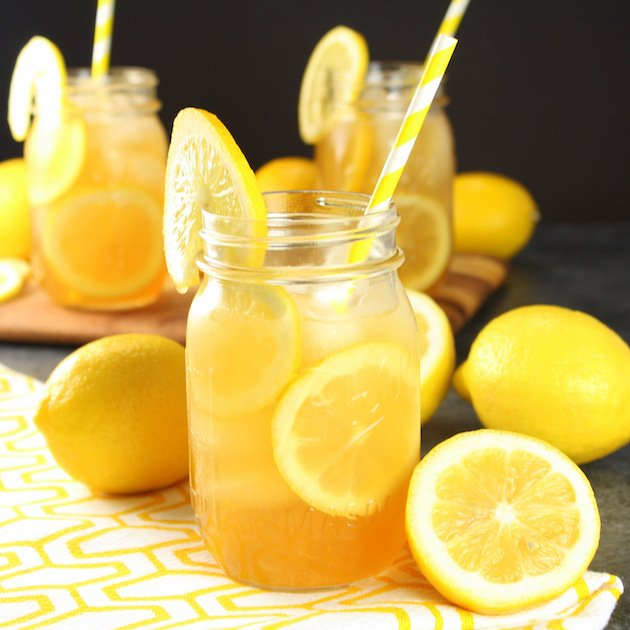 Loaded Lemon Iced Tea Recipe & Image