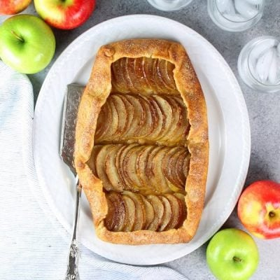 Salted-Butter Apple Galette