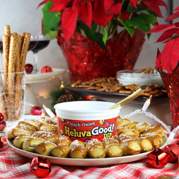 Secrets to a Stress-Free Holiday Party with Heluva Dip EL