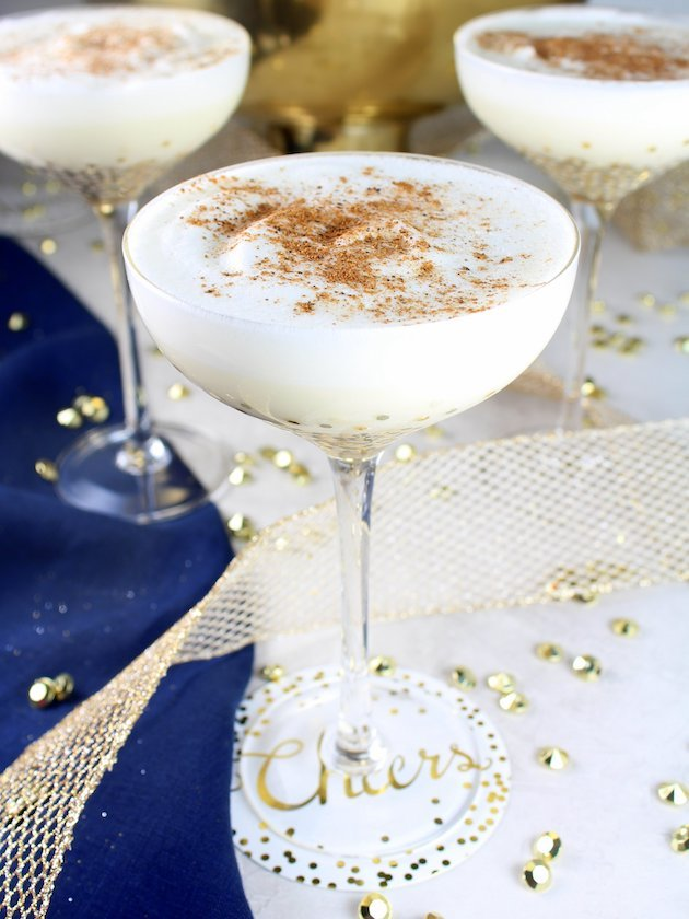 Nutty Holiday Eggnog Image and Recipe