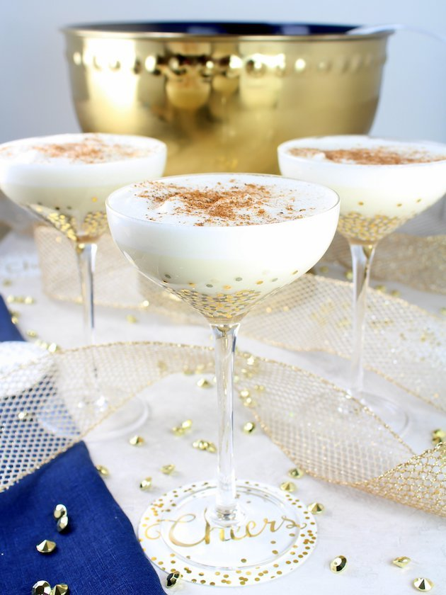 Nutty Holiday Eggnog