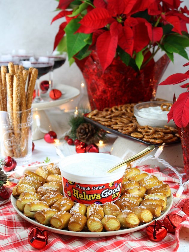 Secrets to a Stress-Free Holiday Party with Heluva Dip Wide 3-4 Angle