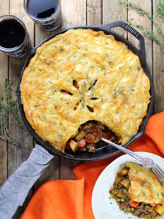 Cottage Beef Pot Pie Recipe