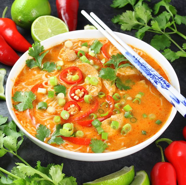 Tasty Kitchen Thai Chicken Soup
