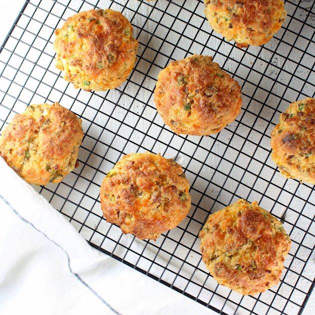 Savory Turkey Sausage Buttermilk Biscuit