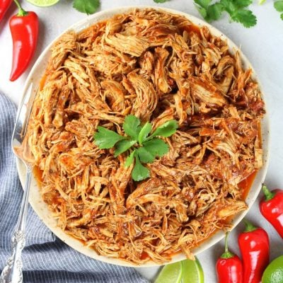 Shredded Mexican Chicken (Instant Pot + Slow Cooker)