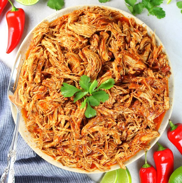 Shredded Mexican Chicken (Instant Pot + Slow Cooker) | Taste
