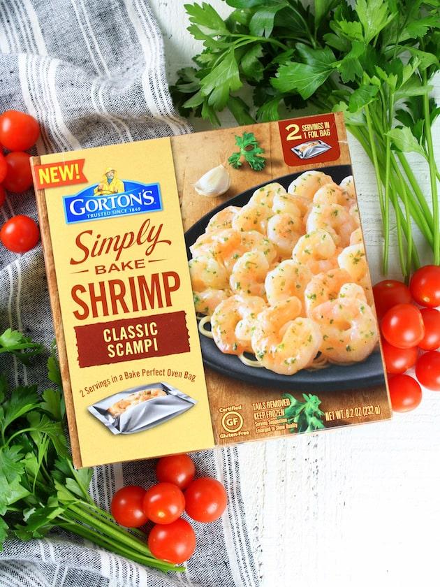 Greek Shrimp Pasta with Sun-Dried Tomatoes and Feta Recipe & Image - Gorton's Simply Bake Shrimp