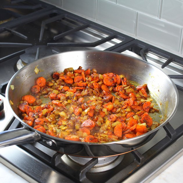 Cooking lentils stovetop