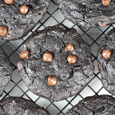 Double Chocolate Protein Cookies