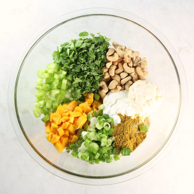 Curry Ingredients in bowl