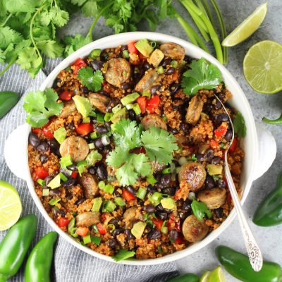 Instant Pot Mexican Quinoa and Chicken