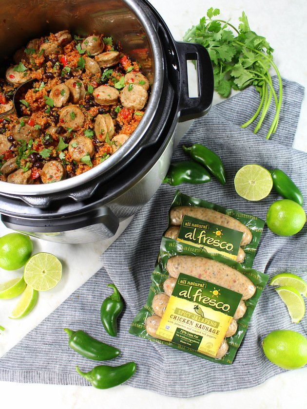 Instant Pot Mexican Quinoa and Chicken Recipe and Image - Instant Pot with Quinoa and chicken