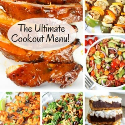 The Cookout Menu For Your Next Summertime Bash!