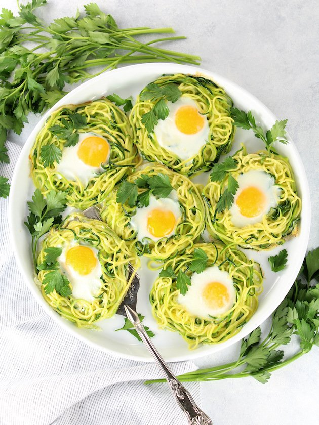 Zoodle Egg Nests - Full Platter OT