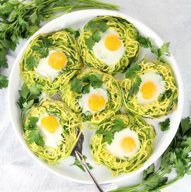 Zoodle Egg Nests