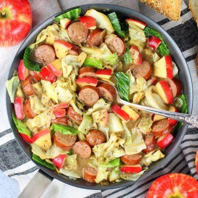 One-Pan Kielbasa and Fried Cabbage