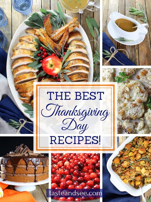 Our Favorite Traditional Thanksgiving Recipes!
