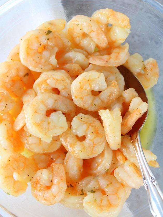 Shrimp Pad Thai Spring Rolls Recipe & Image - Gorton's Shrimp in bowl